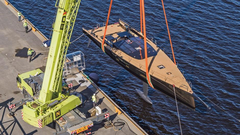Hängt von der Perspektive ab: Wie ökologisch ist eine solche Yacht?