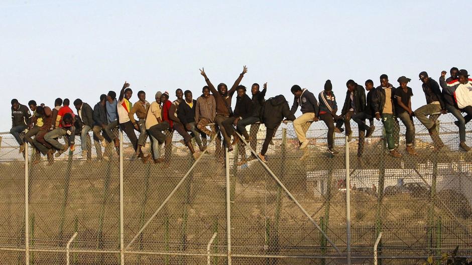 Neuanfang in Europa: Viele junge Afrikaner träumen von einem besseren Leben.