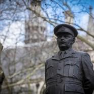 Umstrittenes Denkmal in London: Arthur Harris, der als Oberkommandeur des RAF Bomber Command für die Luftangriffe auf deutsche Städte verantwortlich war.