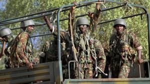 Kenia kündigt auf Twitter Angriffe an