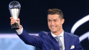 Cristiano Ronaldo zum vierten Mal Weltfußballer des Jahres