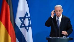 Netanjahu vergleicht UN-Votum mit Münchner Abkommen 1938