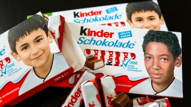 Kinderschokolade Kinderbilder