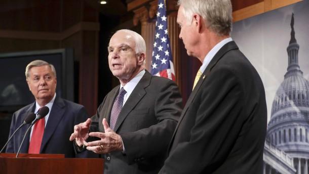 Senat stimmt für neue Russland-Sanktionen