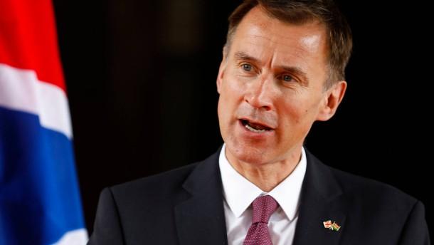 Britischer Außenminister warnt vor ungewolltem Iran-Krieg