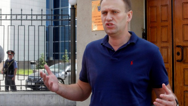 Russische Justiz klagt Blogger Nawalnyj an