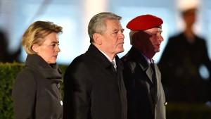 Emotionaler Abschied für Joachim Gauck