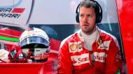 Immer mit der Ruhe: Vettel und Ferrari müssen Geduld beweisen