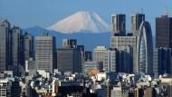 Tokio mit dem Fuji