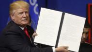 Trump will einheimische Arbeiter bevorzugen