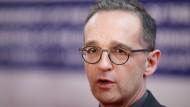 Bundesaußenminister Heiko Maas (SPD), hier Ende Januar bei einem Treffen der EU-Außenminister in Bukarest