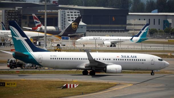Singapur und Australien sperren Luftraum für Boeing 737 Max