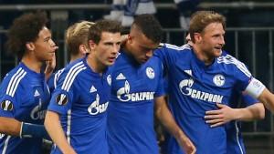 Di Santo schießt Schalke zum sechsten Sieg in Serie