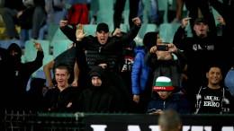 Rassistisches Verhalten bulgarischer Fans