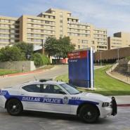 Auf einer Isolierstation des Texas Health Presbyterian Hospital in Dallas wird der Ebola-Patient behandelt.