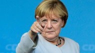 Bundeskanzlerin Angela Merkel reist nach Washington.