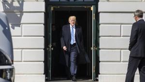 Präsident im Nervenkrieg