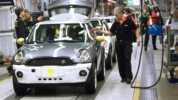 Britischer Automarkt bricht ein