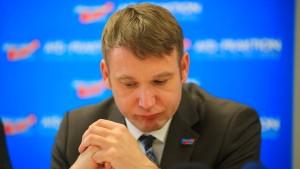 Fraktionschef Poggenburg wird von der AfD-Spitze abgemahnt