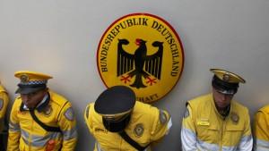Opferfamilien fordern Ende deutscher Waffenlieferungen