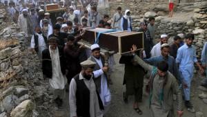 Die Angst der Afghanen vor dem unbekannten Feind