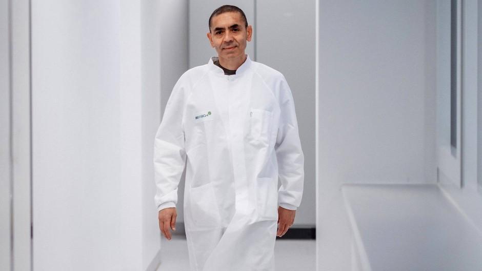 Will sich von Ehrungen nicht lähmen lassen: Ugur Sahin, Medizinprofessor und Gründer des Pharmaunternehmens BioNTech