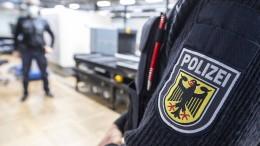 Bundespolizei verschärft Kontrollen am Flughafen