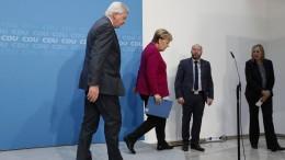 Merkels Abschied auf Raten