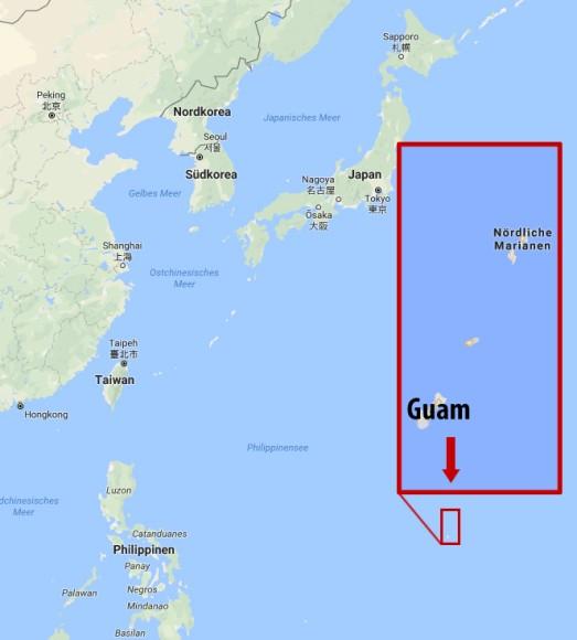 Bilderstrecke zu: Pazifikinsel Guam: Wir wollen keine Speerspitze ...