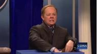 """Als Sprecher: Melissa McCarthy in """"Saturday Night Live"""""""