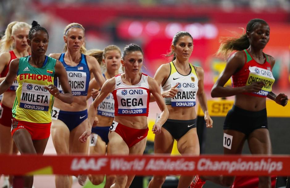 ästhetisches Aussehen bester Ort für bestbewertet billig Katar: Felicitas Krause gewinnt WM-Bronze über 3000 m Hindernis