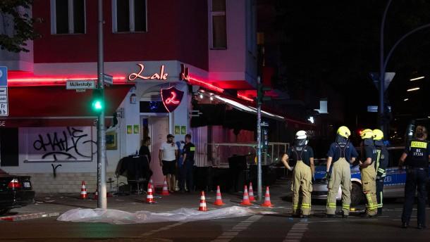 Schießerei in Berlin – drei Männer schwer verletzt