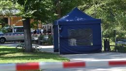 Fahrradfahrer erschießt Mann in Berliner Park
