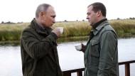 Korruptionsvorwürfe gegen Medwedjew