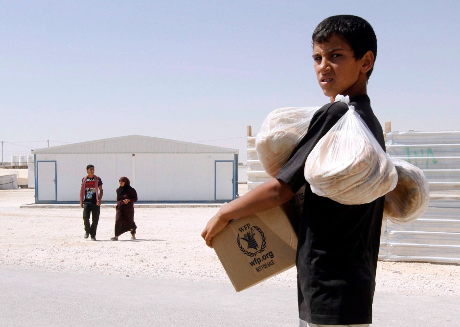 Ein syrischer Flüchtling in Jordanien: Die Leidenskosten des Aufstands werden zu großen Teilen auf Dritte abgewälzt. Ist das zu rechtfertigen?