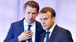 Macron betont harte Haltung der EU beim Brexit