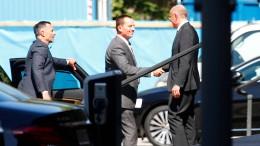 Amerikanischer Botschafter trifft im Auswärtigen Amt ein