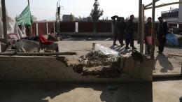 Viele Tote bei Raketenangriffen auf Kabul