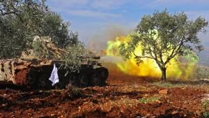 Türkei stoppt Assads Kämpfer in Afrin