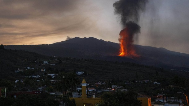 Alle Flüge von und nach La Palma gestrichen