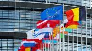 Ziel der Manipulation: das Europäische Parlament in Straßburg