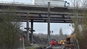A44 bei Kassel bleibt bis Mittwoch gesperrt