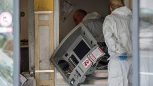 Geldautomat mit Gasgemisch gesprengt