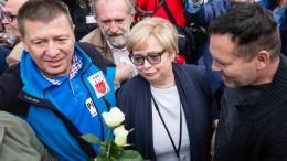 Polens Oberste Richterin kommt trotz Zwangsruhestand zur Arbeit