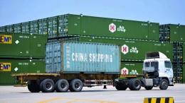 Chinas Export brummt – wegen des Handelskriegs