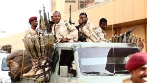 Militärrat in Sudan verhaftet eigene Soldaten