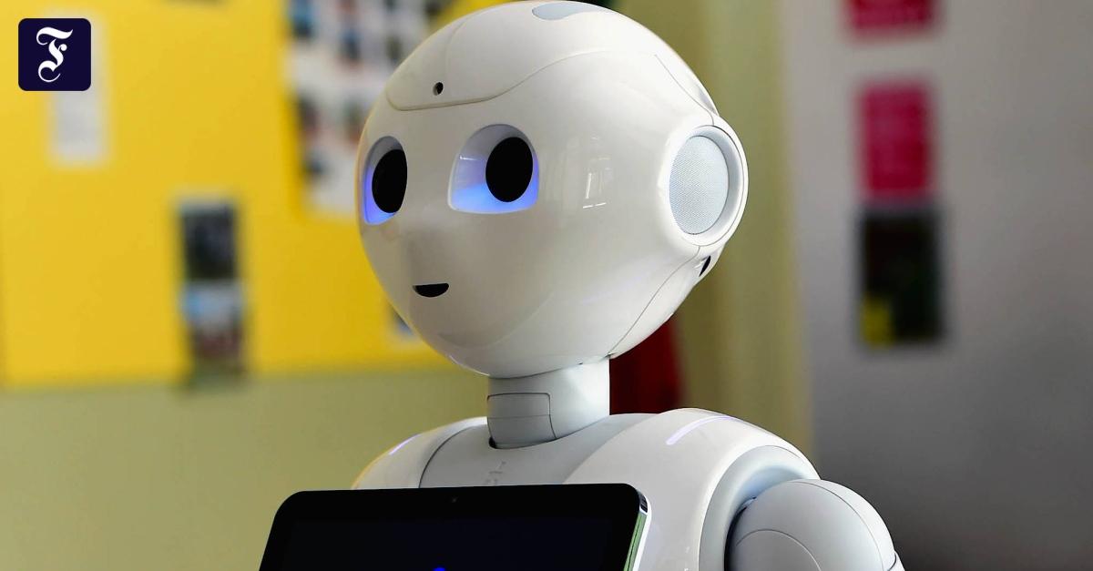 Humanoider Roboter Pepper: Eine Maschine kommt zu Hilfe