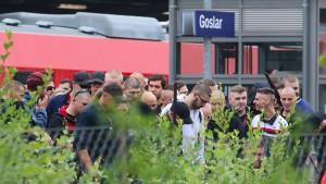 Unbekannte verüben Anschlag auf Bahnstrecke bei Goslar