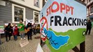 Koalition will Hürden für Fracking senken