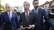 Ende einer Zitterpartie: Nigel Farage